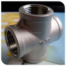 Equal cross stainless steel fittings accessories