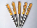 Wholesale Plastic liquid floater ballpoint pen Beer liquid ball pens for brewery promotion gifts