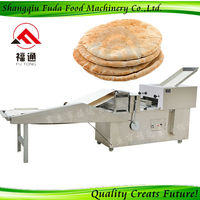 Electric Stainless Steel Tortilla Wraps Making Machine