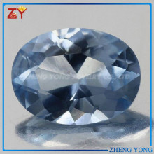 Alibaba buyer best quality semi precious gemstone blue sapphire synthetic spinel
