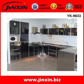 Acero inoxidable de alta calidad 304 del gabinete de for Gabinetes de cocina modernos