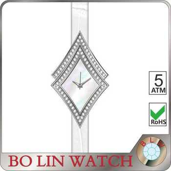 fashion design, women luxury, japan movement, mother of pearl fice, diamond watch