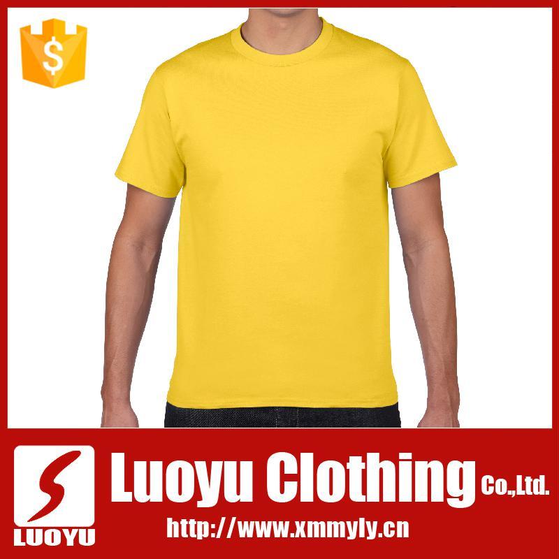 Printing yellow brand plain t shirt buy yellow brand t for Plain t shirts to print on