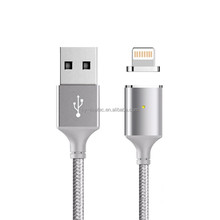 Premium Nylon Braided Magnetic USB to USB Charging Cable for iPhone