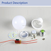 E27 B22 Uncompleted Product Cheap LED