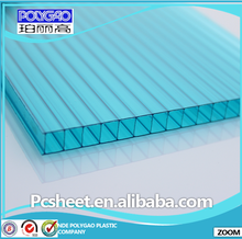 Bayer Material Polycarbonate Sheet For Greenhouse,Swimming Pool Roof,4/6/8/10mm Hollow Polycarbonate Sheet/ PC Panel