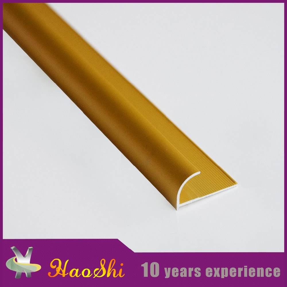 Foshan Extrusion industry gold supplier direct aluminium corner bead metal trim