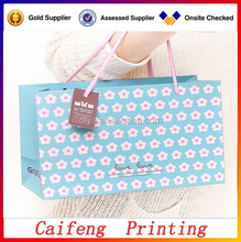 hot sale high quality paper shopping bag