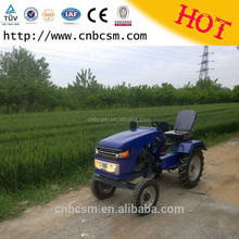 Chinese tractor supply good quality 2 wd 12 hp garden mini tractor small mechanical clutch cheap price hydraulic tractor