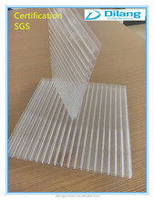 greenhouse plastic cover for roof and wall use polycarbonate hollow sheet