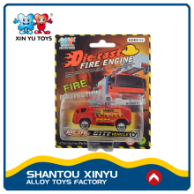 Top selling diecast fire truck custom made model car / miniature toy cars for child