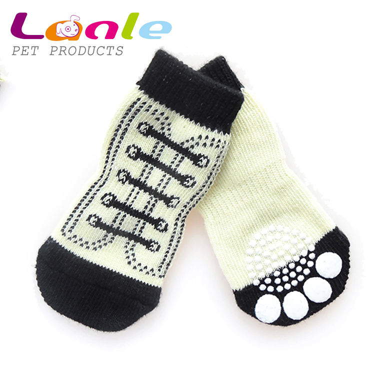 2016 nice design Dog Non-Slip Socks S M L XLyellow shoes design - Pet Puppy Shoes Paw Floor Protection non slip shoes for dog