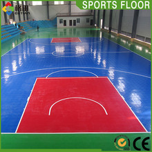 High quality modified PP sport flooring tile for gym