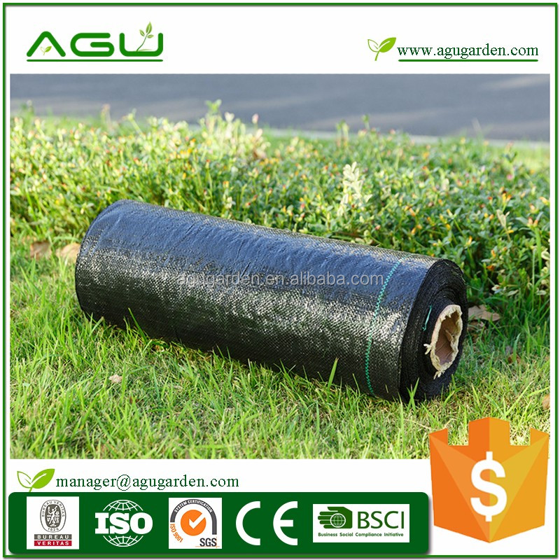 PP material plastic 1.9oz woven ground cover for best greenhouse