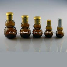 wholeset custom amber glass essential oil bottles with cap