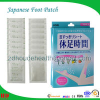 bamboo crystal detox foot patch