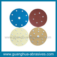 50-180mm Abrasive Sanding Disc with 5 Holes for Metal