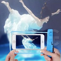 New Fashion 5.7inch PVC night light waterproof phone bag for samsung galaxy s4 mini s6 s6 edge note 4 and etc