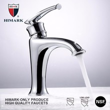 Homes and gardens products chrome plated single handle bathroom sink faucet