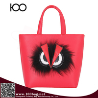 ladies handbag online fur Embroidered paste tobao bag handbag clones
