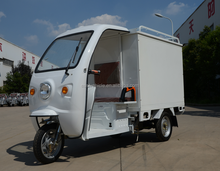 Anti-rust and stable three wheeler electric express cargo vehicle fashion delivery van