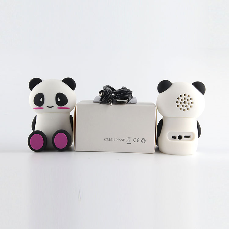 Promotional speaker  with white box