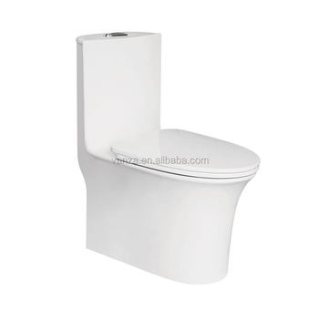 New Display Ceramic One Piece Toilet For Small Bathrooms