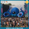 Attractive giant inflatable octopus tentacle for event stage decoration with LED lights inside