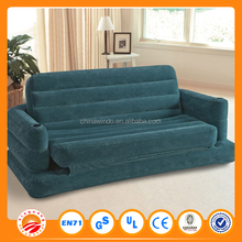 Single or doule seat transparent giant inflatable sofa