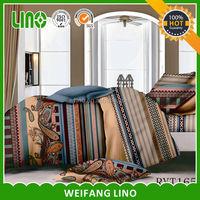 3d printed 100% polyester comfort modal print bedding/fiber sheet price