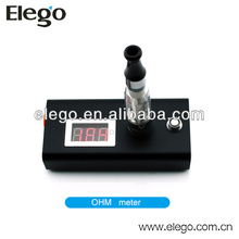 2014 Elego new portable cartomizer and atomizer ohm meter ecig