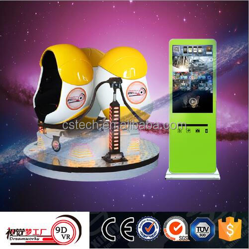 European popular high quality new arrival 9D VR cinema 3 seat