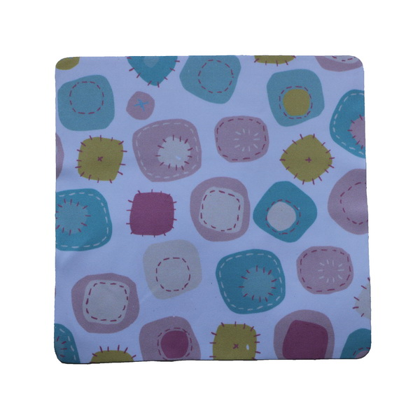 Round Corner Cartoon Microfiber Cloth In Bulk