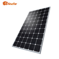 Shinefar high efficiency mono 280W solar panel cells from China top 10 supplier