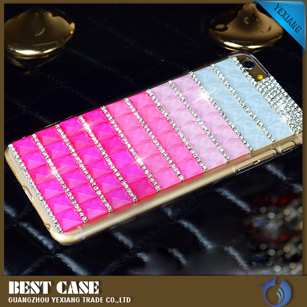 New Arrival Smart Phone Cover Waterproof Case For LG G4 Bling Bling Diamond Case For LG G4