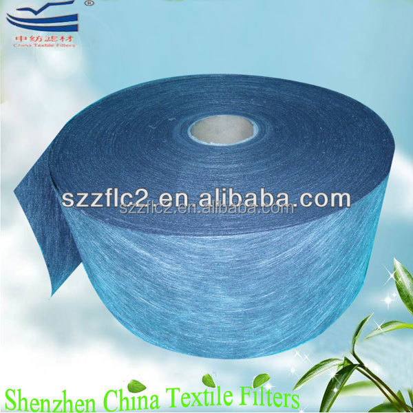 Primary efficiency activated carbon filter disposable nonwoven cloth bag