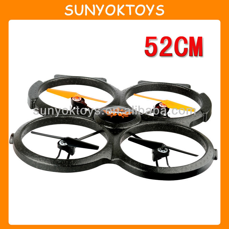 2014 Newest product! 2.4G 4CH 4-AXIS 52CM Large Foam UFO With 360 Degree Eversion, Big Quadcopter