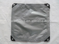 180g silver color pe tarpaulin for trucks cover online canvas tarpaulin