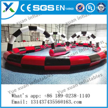 New design inflatable race track for adult hot selling