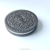 Oreo Cookies shaped food eraser