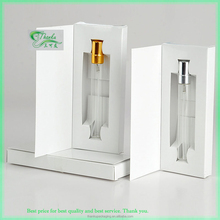 5ml 10ml Custom made glass perfume spray bottles with box packaging