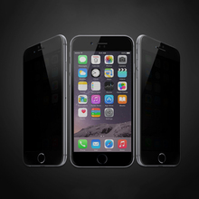 Latest Style Glossy Cell Phone Privacy Screen Protector for Iphone 6 Plus