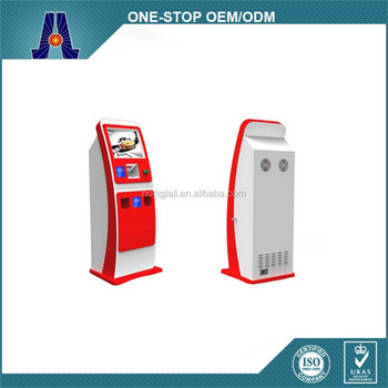 retail kiosk stand,all-in-one PC kiosk computer,kiosk design (HJL-3662)