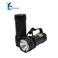 HID scuba flashlight waterproof for diving