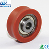 608zz plastic pulley v groove wheel bearing v guide wheels and tracks
