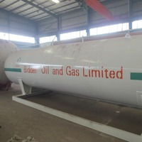 1.77Mpa lpg filling tank , lpg gas mobile cng mobile filling station