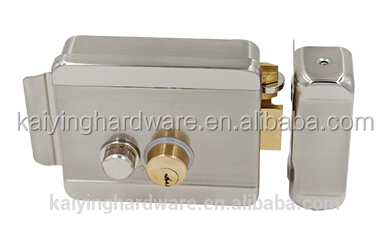 Brass cylinder electronic door locks electric cerradura KY2015-DBL