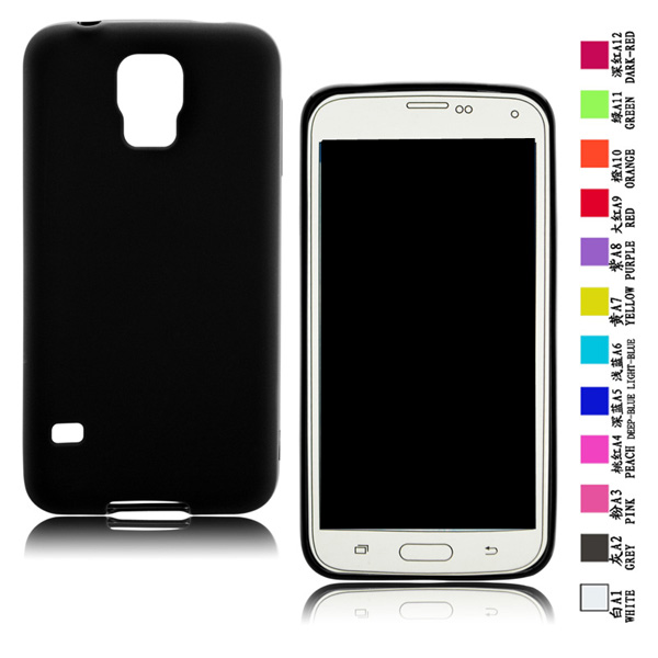 Wholesale Cheap <strong>Protective</strong> Frosted TPU Mobile Phone Case for Samsung s5/G900
