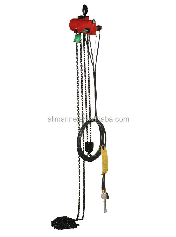 Pneumatic Explosion Proof Chain Hoist, Air Driven Chain Hoist