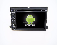 Android 7.1 Car Dvd Player/2 din car Gps with Qcta core processor for explorer/Expedition/Mustang/Fusion